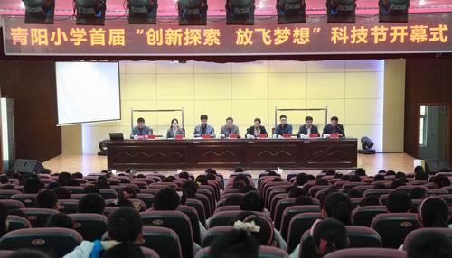 泗洪县青阳镇中心范本举办首届放飞探索创新小学生日记小学图片