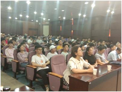 揚州市信息技術分會開展科普報告進校園活動