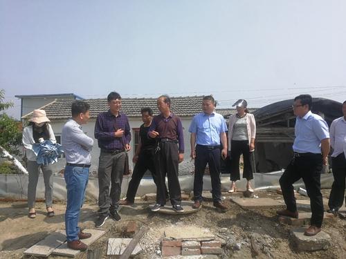 兴化市科协邀请专家赴安丰镇,中堡镇开展技术服务