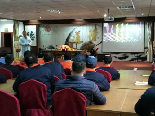 男性健康知识讲座走进吴中区恒升机械公司