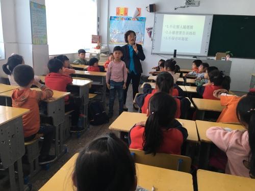 """民工子弟学校儿童性心理教育辅导""""走进太仓横"""