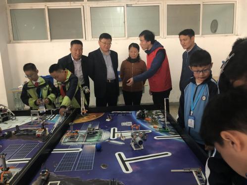 乐动体育娱乐市青少年机器人竞赛系列活动举行